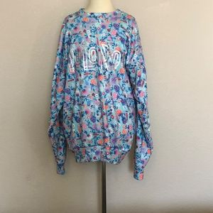 LuLaRoe - Floral Sweatshirt ((size Medium))